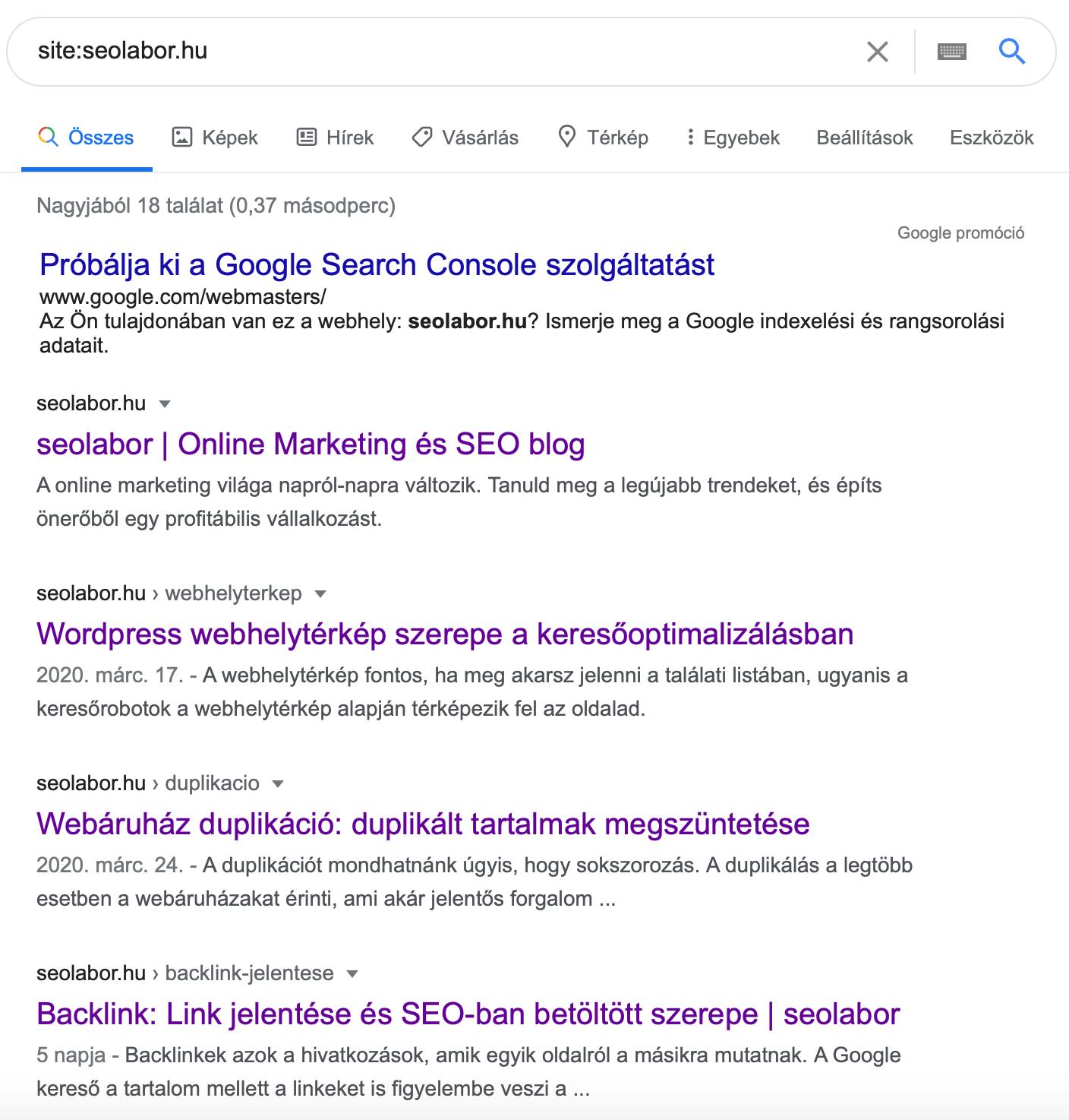 seo site kulcsszó